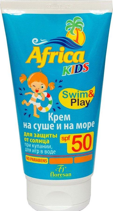 SPF 50 Floresan - AFRIKA Detský Krém na opalovanie 150 ml