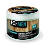 Floresan - Prírodné mydlo pre mužov telo a vlasy a mäkké holenie 3 IN 1 450 g
