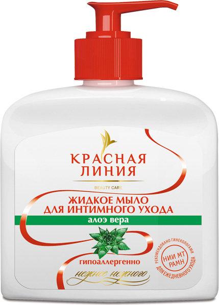 Červená čiara - Tekuté mydlo pre intímnu hygienu Aloe Vera 250ml