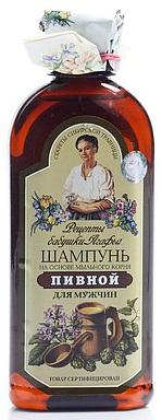 RBA Pivný šampón pre mužov na základe koreňa mydlice 350ml