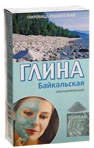 Fitokosmetik Modrý íl z Bajkalu Omladzujúci 100g