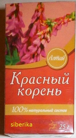 Čajový nápoj Červený koreň (Sekernica tmavá) 25 g