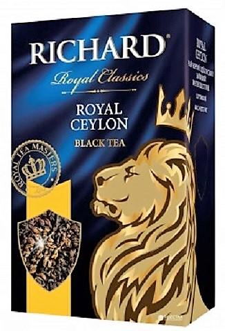 Richard Royal Ceylon Listový čierny cejlónsky čaj 100 g