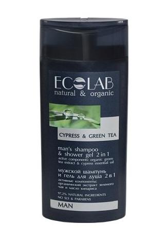 Ecolab - Šampón a sprchový gél pre mužov 2v1, 250ml