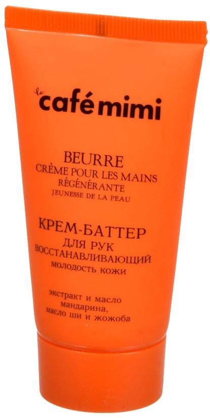 Cafe mimi - Krémové maslo na ruky Revitalizujúce, 50ml