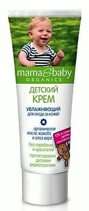 Mama&Baby Organics Detský zvláčňující krém 75ml