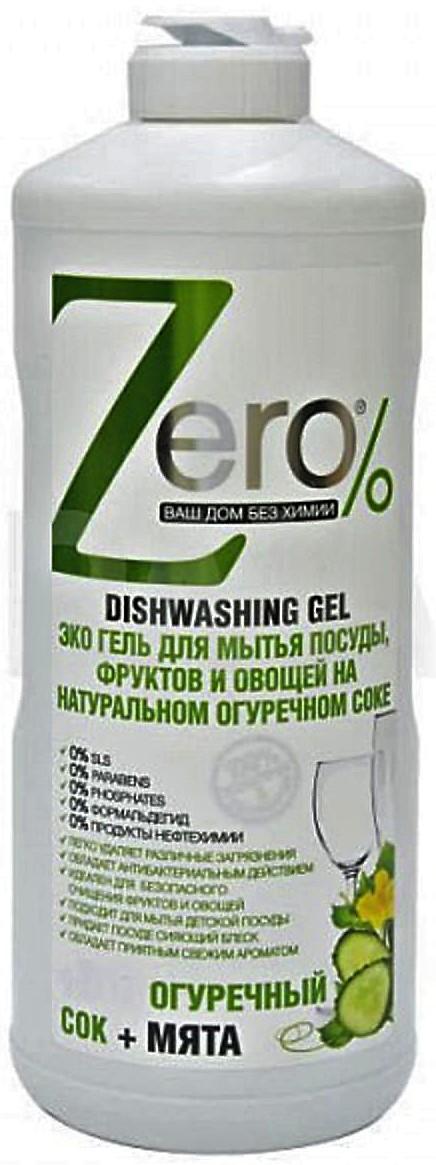 zEro Eco gél na umývanie Uhorková šťava+Mäta 500ml