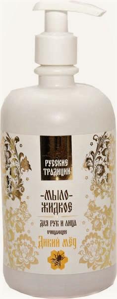 """Tekuté mydlo čistiace """"Divoký med """" na ruky a tvár, 400 ml"""