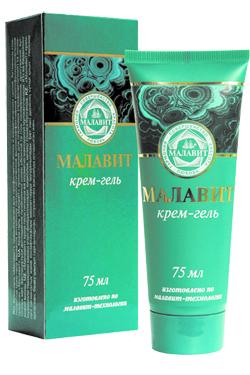 """Gélový kozmetický krém """"Malavit"""", 75 ml"""