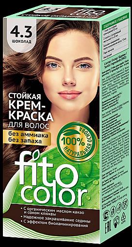 4.3 FitoColor Dlho trvajúca Crem – Farba na vlasy Ćokoláda 50/25x2/15-115ml