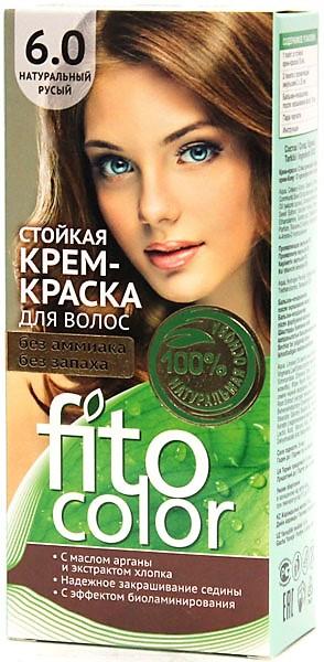 6.0 FitoColor Dlho trvajúca Crem – Farba na vlasy Svetlohnedý 50/25x2/15-115ml