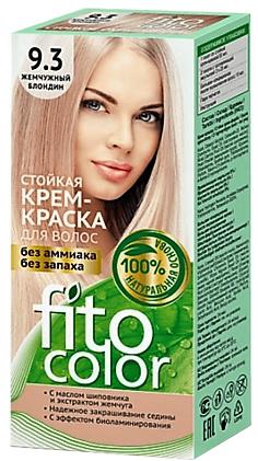9.3 FitoColor Dlho trvajúca Crem – Farba na vlasy perlová blond 50/25x2/15-115ml