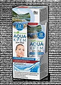 Fitokosmetik Aqua-krém na tvar na normálnu a zmiešanú pleť 45 ml