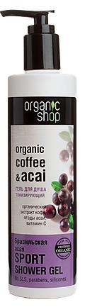 Organic Shop Tonizujúci sprchový gél Brazílske Acai 280ml