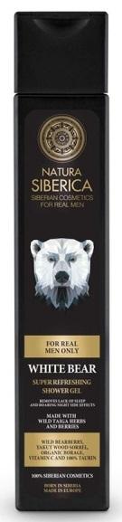 NS Osviežujúci sprchový gél Biely Medveď 250ml