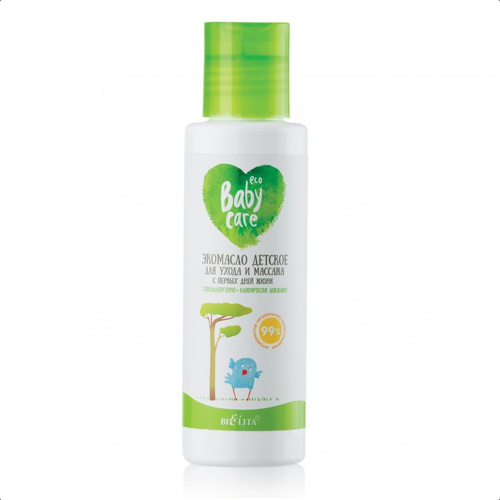Belita - ECO masážny olej pre deti od prvých dní života 105 ml