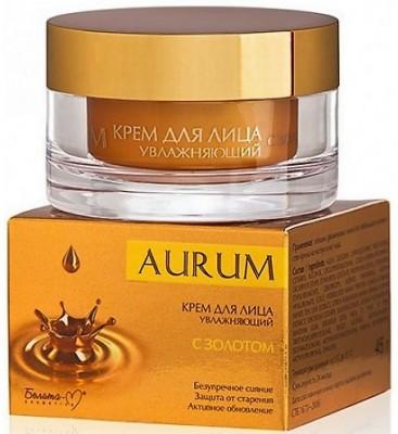 AURUM Hydratačný krém na tvár s 24 karátovým zlatom 45g