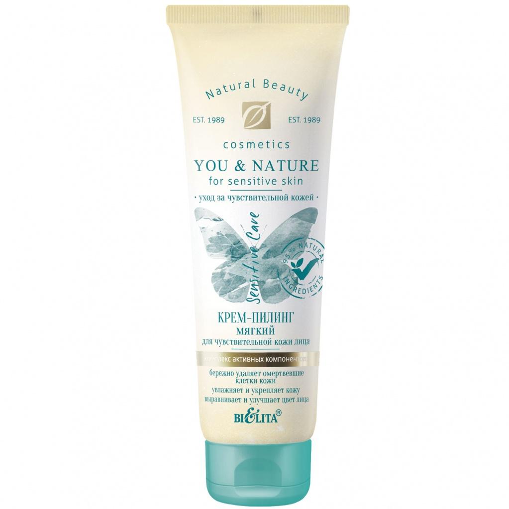 Belita - You and Nature Jemný peeling na tvár pre citlivú pokožku, 75ml