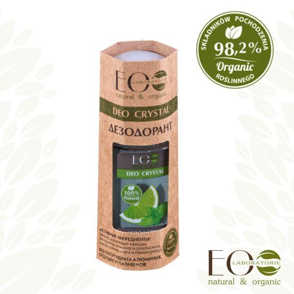 EO LAB Deodorant DEO Crystal Mäta - Limetka 50 ml