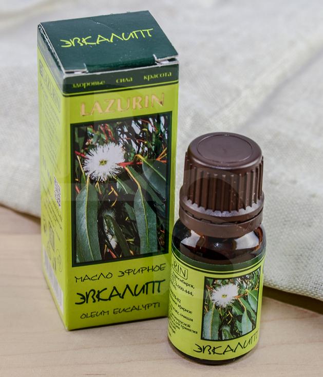 Éterický olej 100 % Eukalyptus, 10 ml