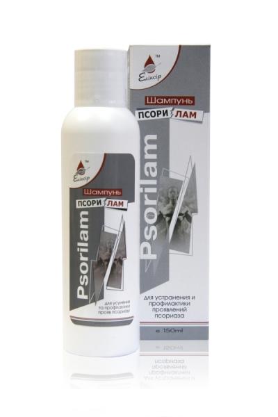 Elixír - Psorilam Šampón proti seboroickej dermatitíde a psoriáze 150ml